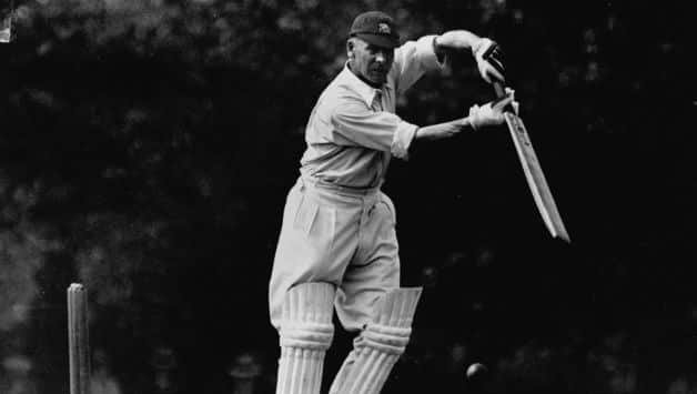 Sir Jack Hobbs was the first ever batsman to score 5000 Test runs. (Photo - getty)