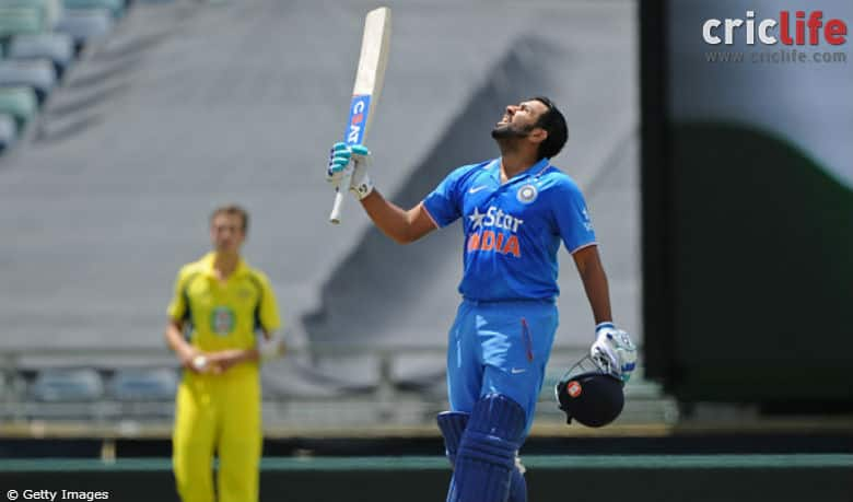 Rohit Sharma's father hails son's knock; hints at Ritika's lady-luck shining on him