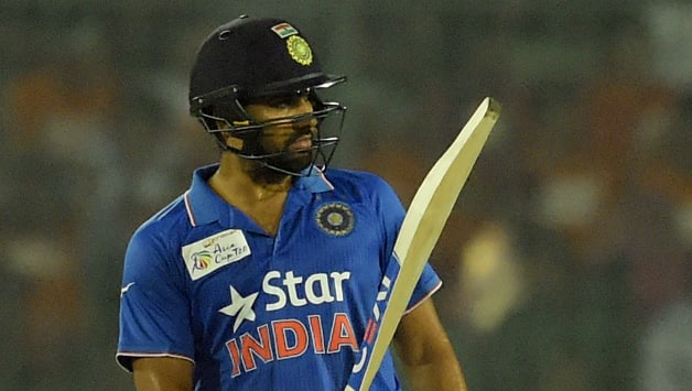 Rohit Sharma slammed his 10th T20I fifty on Wednesday © AFP