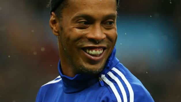 Ronaldinho is one of Brazil All Stars players who will not play Vietnam All  Stars ©