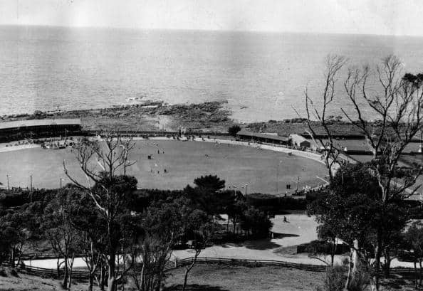 A cricket ground in Tasmania, 1935 (file photo) © Getty Images