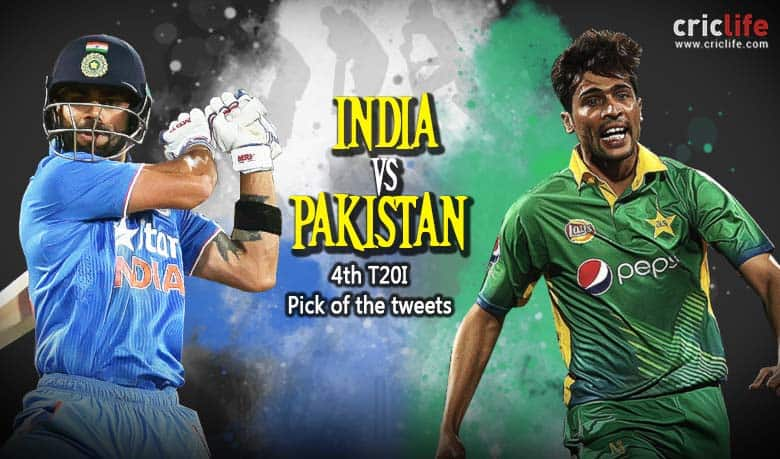 Pick of the tweets: Asia Cup 2016, India vs Pakistan, 4th T20I at Mirpur