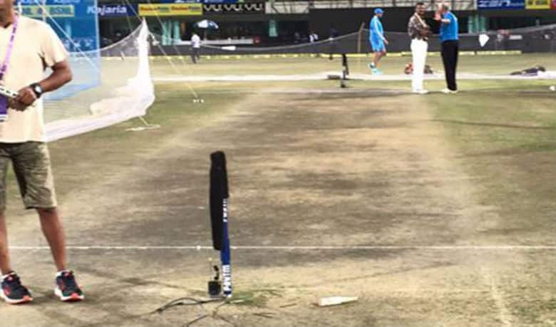 Twitterati troll Ranchi Cricket Ground outfield for no grass
