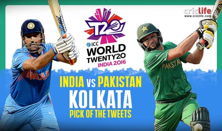 ICC World T20 2016, Super 10, Pick of the Tweets: India vs Pakistan at Kolkata