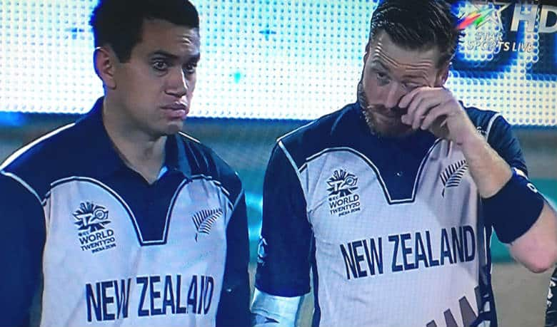 Ross Taylor (left) and Martin Guptill (Photo courtesy: Screengrab from Star Sports)
