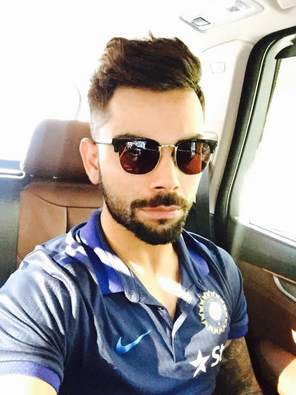 Photo Virat Kohli Dons A New Look Ahead Of Icc World T20 2016