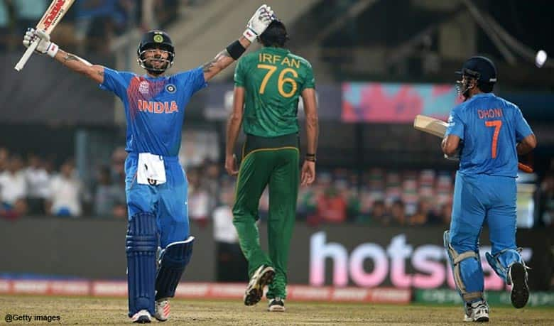 India's fifth consecutive victory against Pakistan in World T20 and 10 other statistical highlights from India vs Pakistan World T20 match at Kolkata