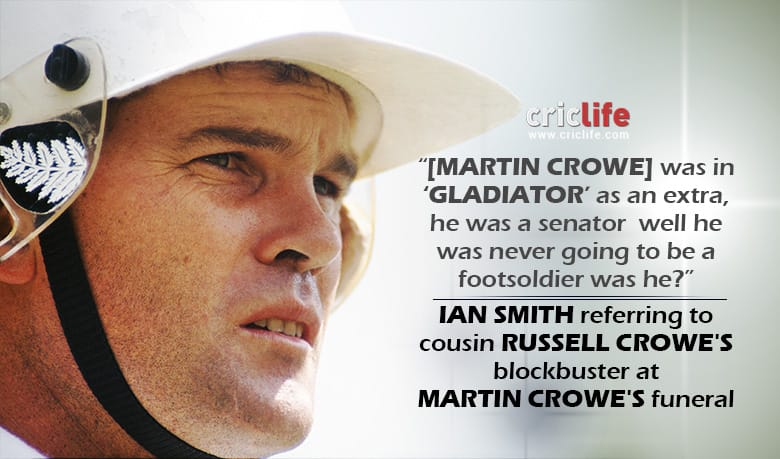 Touching tributes flow at Martin Crowe's funeral
