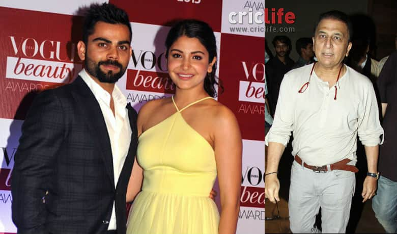 Anushka is a lovely girl and both Kohli and she looked absolutely terrific together, says Sunil Gavaskar