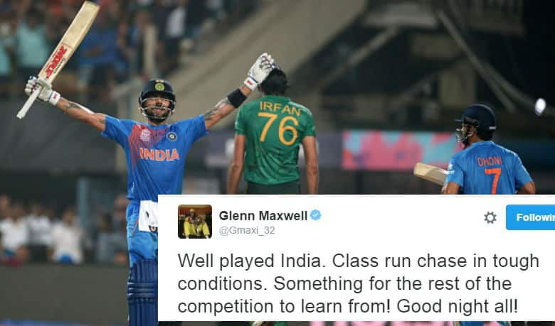 Twitter erupts as another Virat Kohli special guides India to a memorable win against Pakistan at Eden Gardens