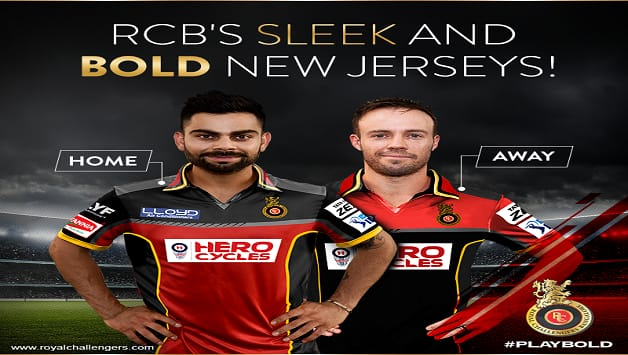 IPL 2016: Royal Challengers Bangalore unveils new team jersey ...