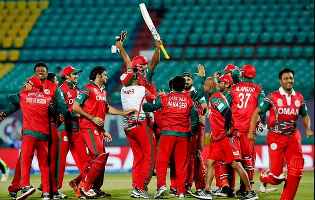 Oman to play World Cricket League later this month to enter Division 4 Photo courtesy: PA Images & @RyanK_Bailey on Twitter