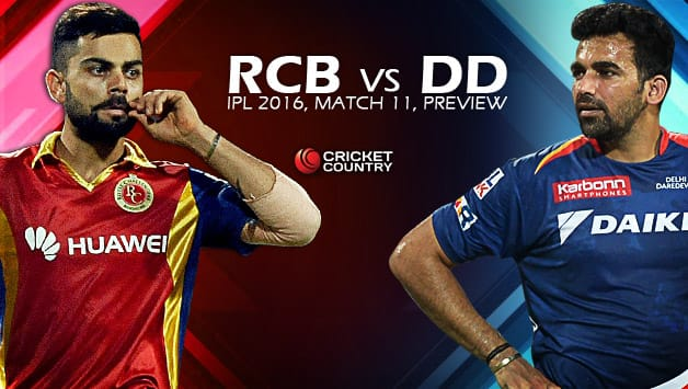 RCB and DD are level headed and one of them will want to take the lead at Bengaluru on Sunday © AFP