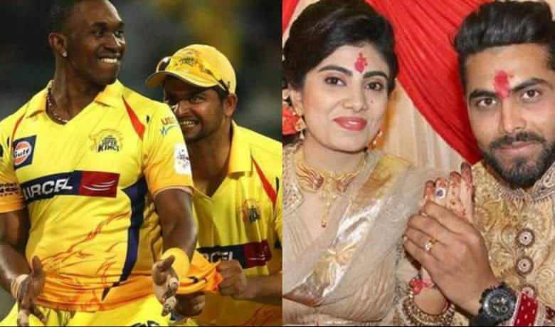 dwayne bravo suresh raina to perform garba at ravindra