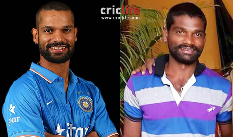 Image result for Shikhar Dhawan and this technician from the Kannada film industry
