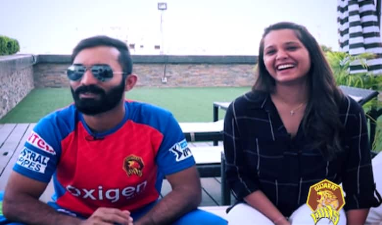 Video: Rapid fire with 'Gujarat Lion' Dinesh Karthik and wife Dipika Pallikal