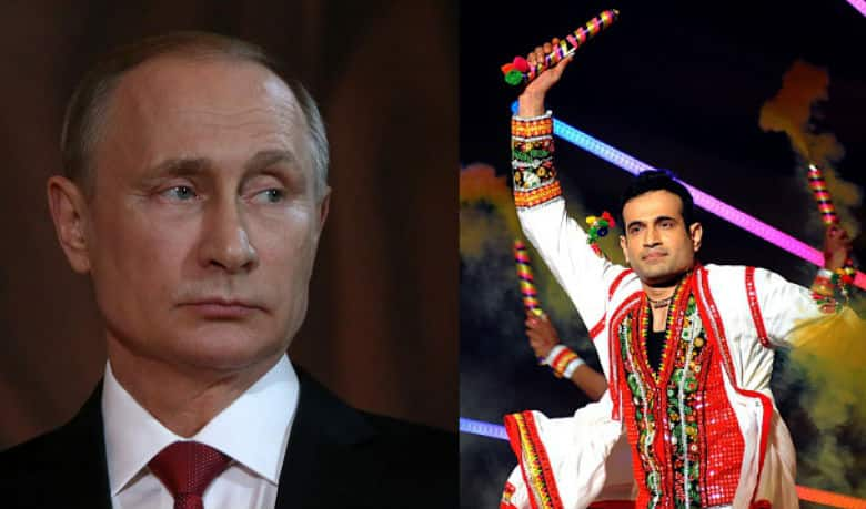 BREAKING NEWS: Irfan Pathan nominated to be the SITTING President of Russia!