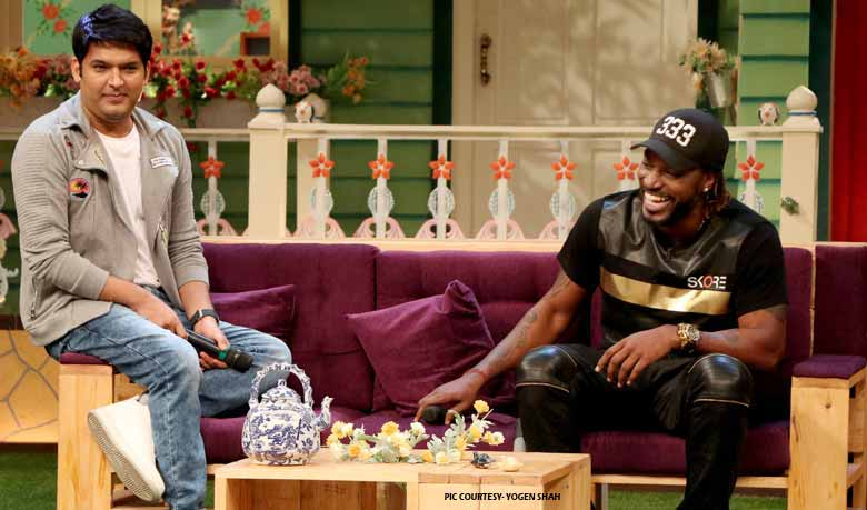 Chris Gayle appeals to the fans to live life 'Kapil Sharma' size