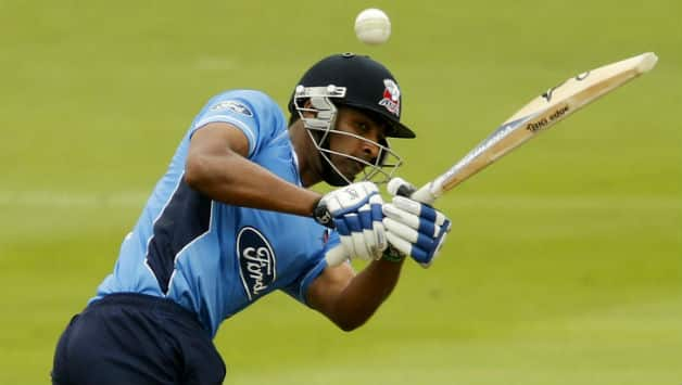 Jeet Raval made his debut in First-class cricket for Auckland in December, 2008 © Getty Images