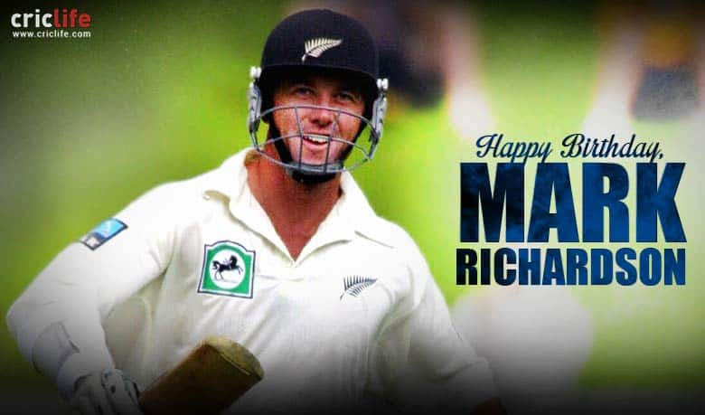 Mark Richardson: 10 facts about one of the New Zealand's most admired players