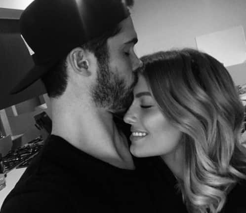 Photo: Ben Cutting, Erin Holland happy to be back together