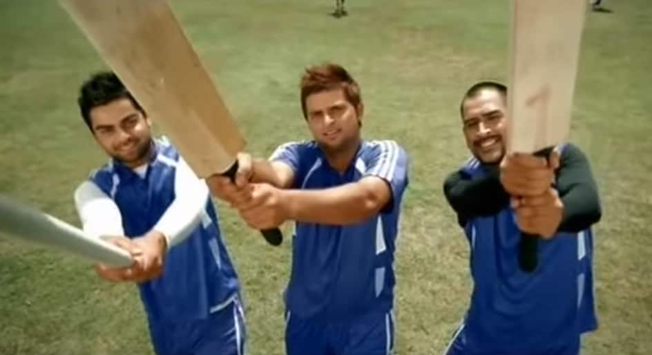 Video: Virat Kohli, Suresh Raina, MS Dhoni have fun behind ...