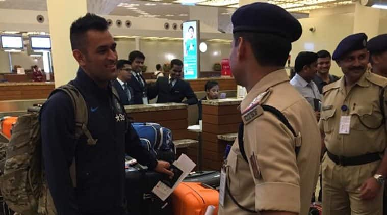 Watch: MS Dhoni and Co leave for Zimbabwe to play limited-overs series