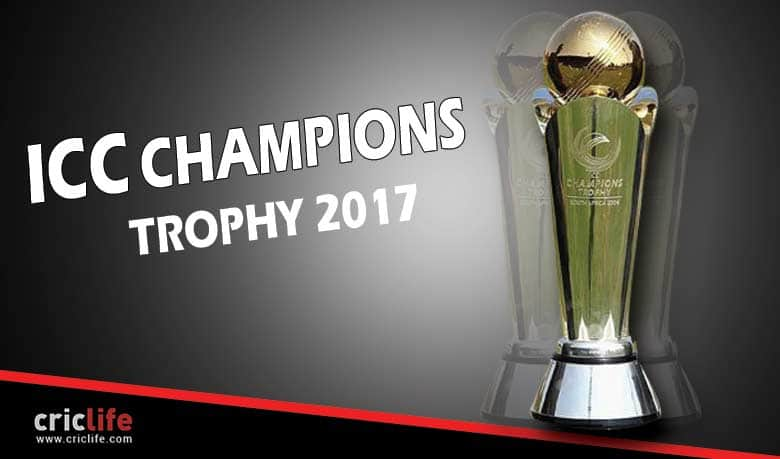 ICC Champions Trophy 2017 Schedule And Match Details