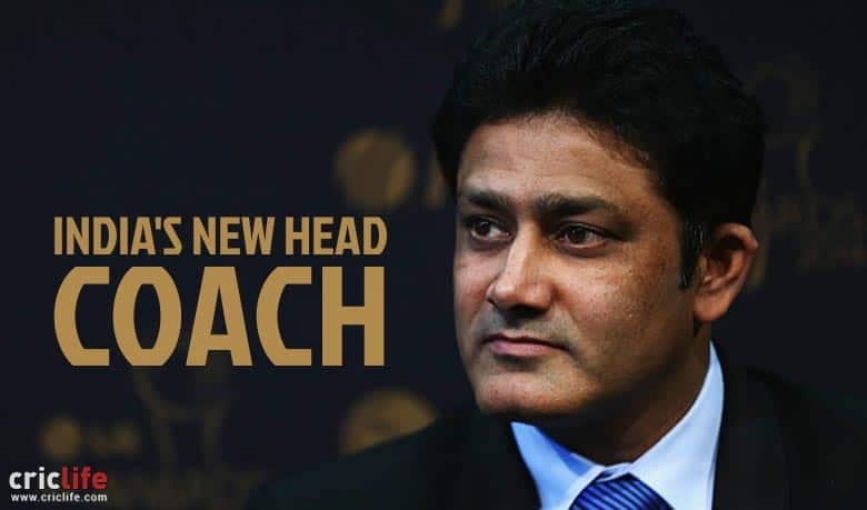 Anil Kumble's appointment as Team India head coach sets Twitter abuzz