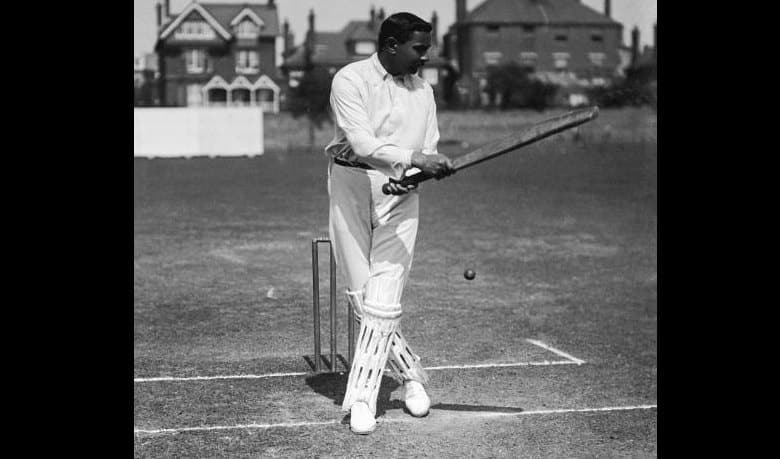 Watch one of the oldest cricket videos! Yes, it's Ranjitsinhji batting in nets
