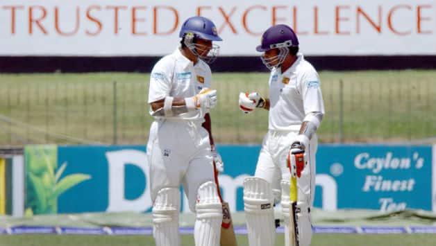 Kumar Sangakkara and Mahela Jayawardene were the two prominent names behind Sri Lanka's success in England © Getty Images