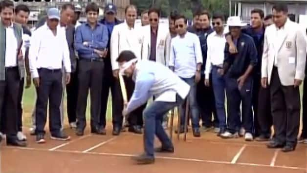 Anurag Thakur has been very active since taking over as BCCI President recently Photo Courtesy: ANI Twitter handle