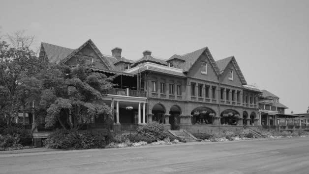 Merion Cricket Club, for whom Charles Braithwaite played. Photo courtesy: Wikimedia Commons