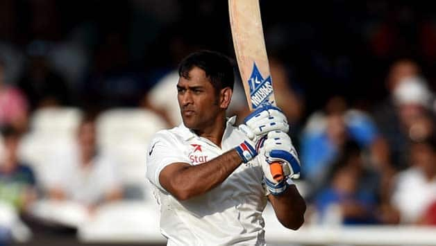 MS Dhoni the only Indian wicket keeper to score a 200 in Test cricket. (photo - getty)