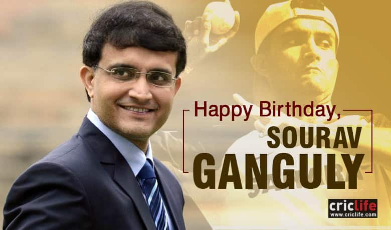 Sachin Tendulkar, Harbhajan Singh and other luminaries wish Sourav Ganguly on his 44th birthday