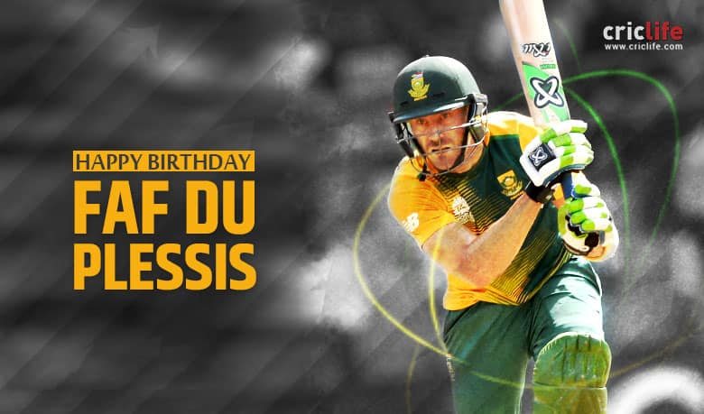 Faf du Plessis: 11 interesting facts you need to know about South Africa's T20 captain