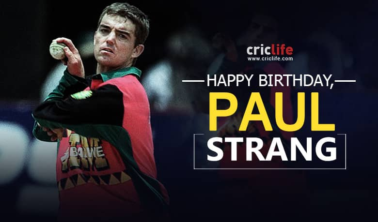 Paul Strang: 11 interesting things to know about the former Zimbabwean cricketer