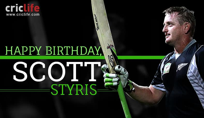 Scott Styris: 15 lesser-known facts about the Kiwi all-rounder