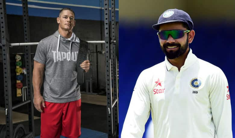 Is John Cena a Virat Kohli fan?