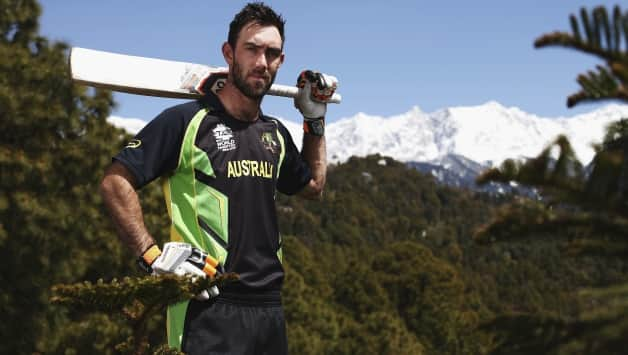 Glenn Maxwell was dropped from the ODI series due to his poor form in tri-series against South Africa and West Indies © Getty Images