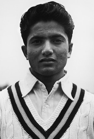 Hanif Mohammad: Pakistan cricket's first star batsman © Getty Images
