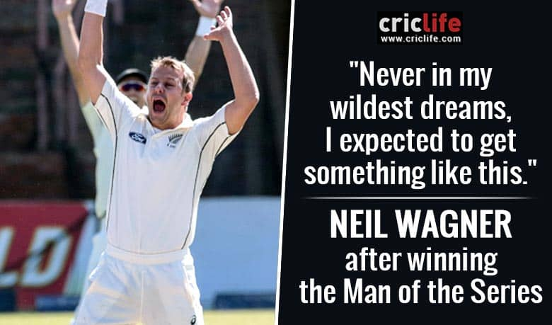 Neil Wagner opens up on his wildest dreams
