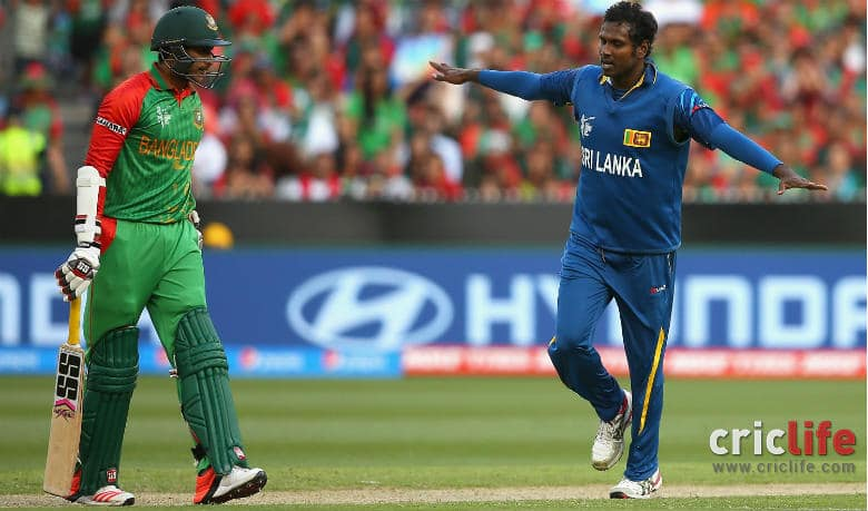 Angelo Mathews will play the role of a finisher and will contribute with his disciplined medium-pacers. (Courtesy: Getty Images)
