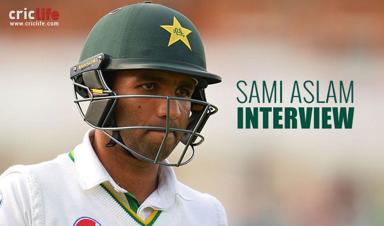 "Sami Aslam: ""Virat Kohli is a batsman who I respect and admire"""