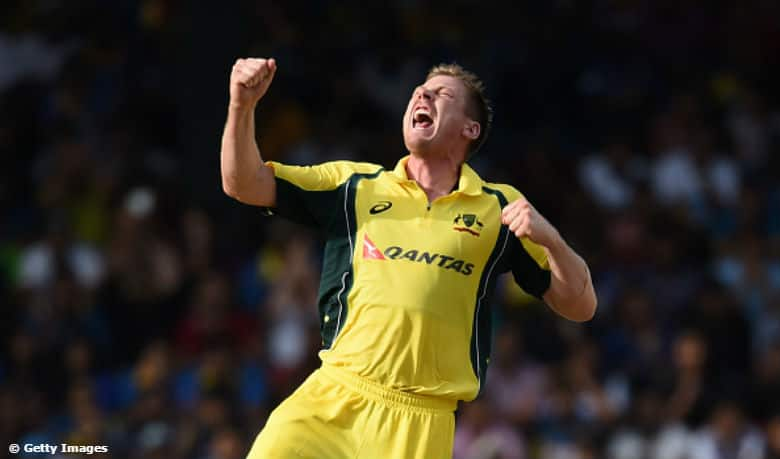 Watch James Faulkner take hat-trick against Sri Lanka in the 2nd ODI
