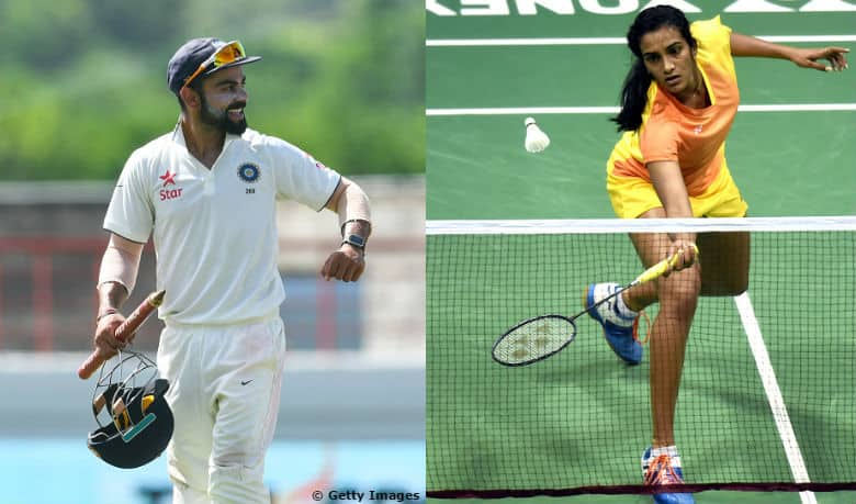VIDEO: Virat Kohli sends wishes for PV Sindhu; backs her for a Gold at Rio Olympics 2016