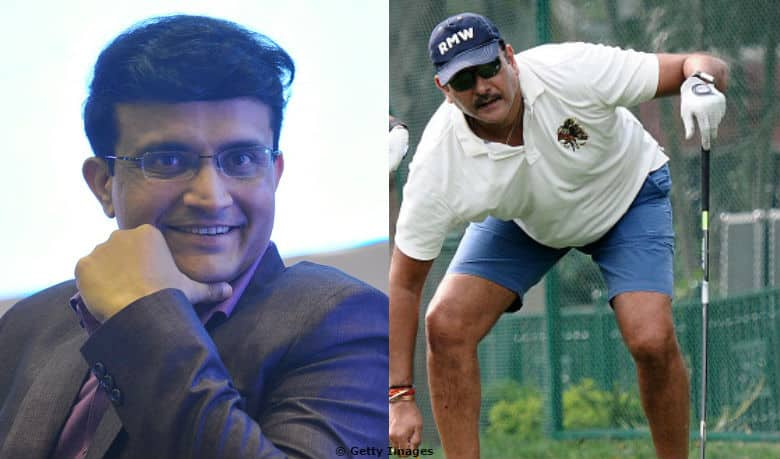 Breaking: Thanks to Sourav Ganguly, Ravi Shastri did not host the toss at Florida through Skype