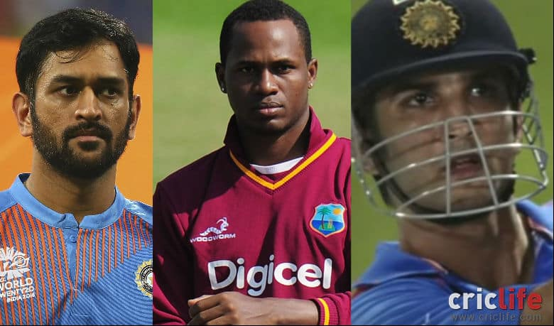 Dhoni trolled while Sushant Singh Rajput, Marlon Samuels trend post India's one-run defeat against WI