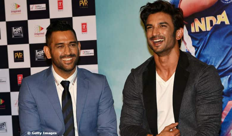 """Sushant Singh Rajput teaches a lesson on """"wit"""" to a fan in trademark MS Dhoni style"""