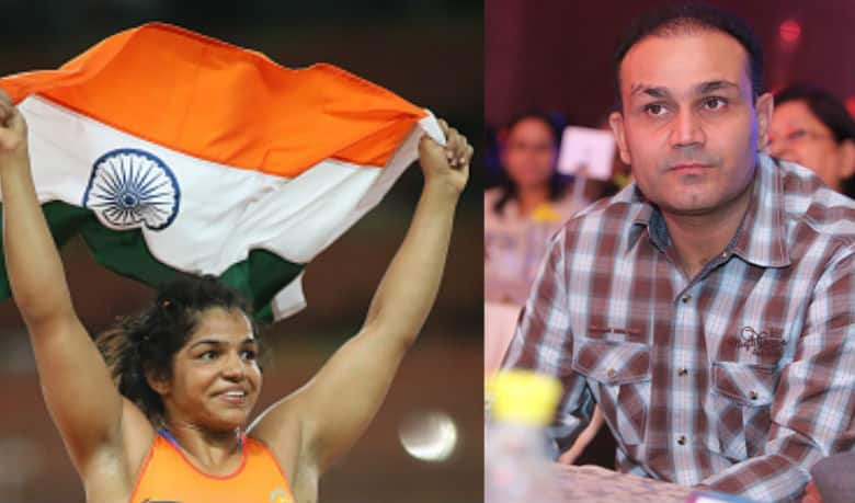 Sehwag makes an impactful statement on 'female foeticide' in India as he congratulates Olympic medallist Sakshi